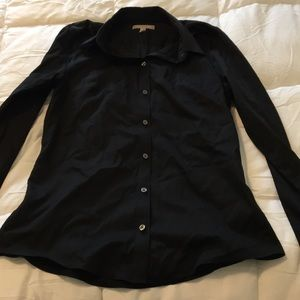 Banana Republic No-Iron fitted button down *12Tall